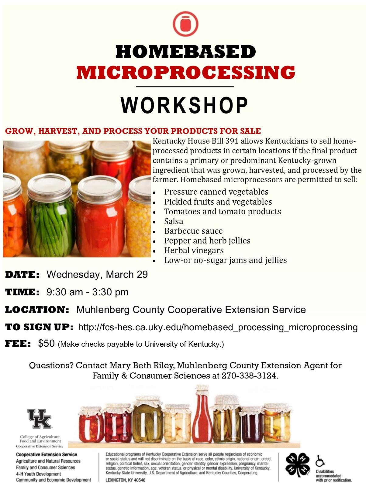 Microprocessing Workshop