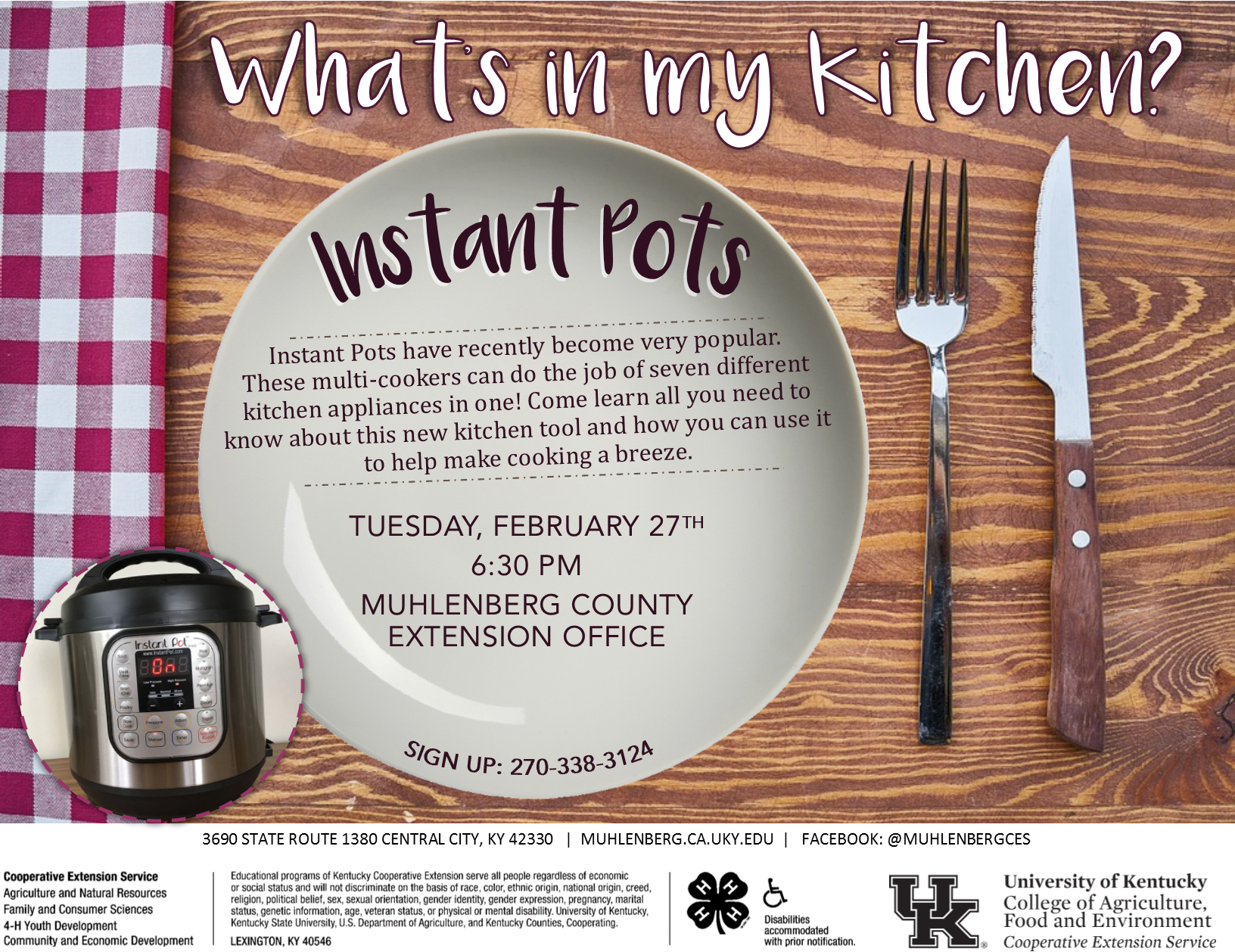 What's in my Kitchen? Instant Pots