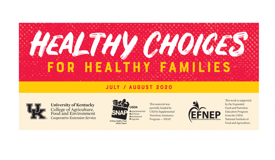 Healthy Choices Newsletter found by clicking link above.